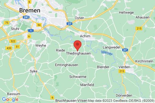 Karte Thedinghausen