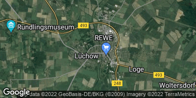Google Map of Lüchow