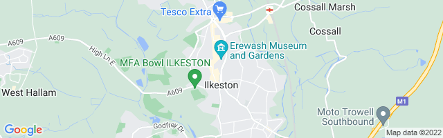Map Of Ilkeston