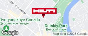 Get directions to Региональный представитель Hilti в г. Орел