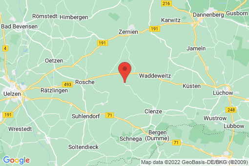 Karte Clenze Braudel