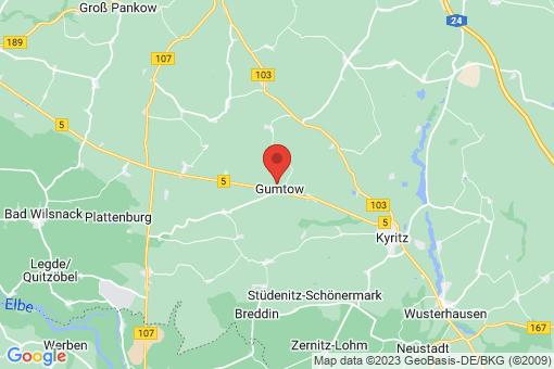 Karte Gumtow
