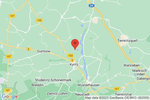 Karte Kyritz Drewen