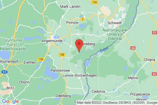 Karte Stolpe/Oder