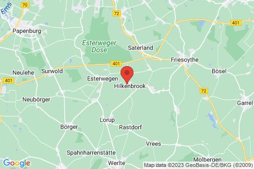 Karte Hilkenbrook