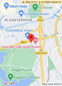Google Map of Van der Valk Hotel Assen