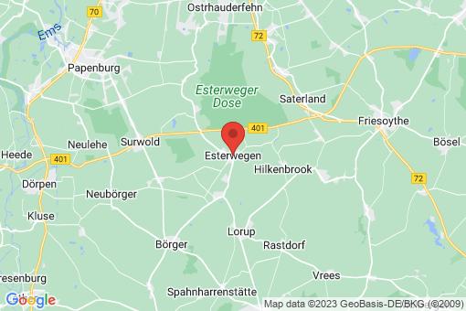 Karte Esterwegen