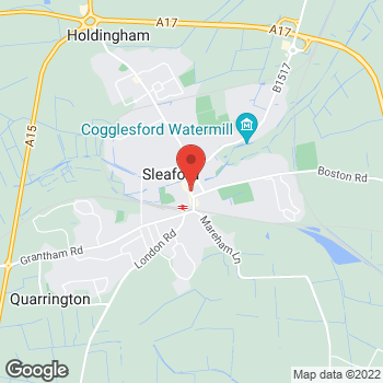 Map of Bargain Booze Southgate at 67 Southgate, Sleaford, Lincolnshire NG34 7SY