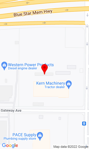 Google Map of South Kern Machinery Inc. 520 S. Mt. Vernon Ave., Bakersfield, CA, 93307
