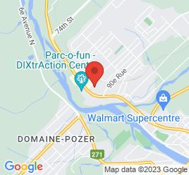 Google Map of 520%2C+87e+Rue+Est%2CSaint-Georges-Est%2CQuebec+G5Y+7L9