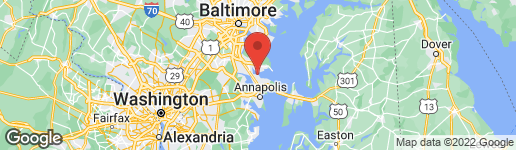 Map of 520 MARTINGALE LANE ARNOLD, MD 21012