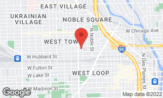 Map of 520 North Armour Street CHICAGO, IL 60642