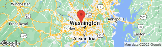 Map of 5200 VENTNOR ROAD BETHESDA, MD 20816