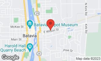 Map of 521 East Wilson Street BATAVIA, IL 60510