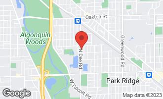 Map of 521 North Dee Road PARK RIDGE, IL 60068