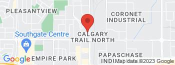 Google Map of 5220+Gateway+Blvd%2CEdmonton%2CAlberta+T6H+4J7