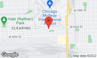 Map of 5224 West 63rd Place E CHICAGO, IL 60638