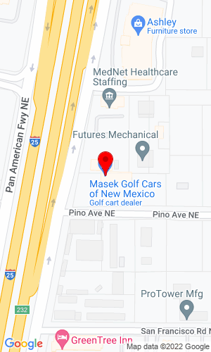 Google Map of Desert Greens Equipment, Inc. 5225 Pino Rd. N.E., Albuquerque, NM, 87109