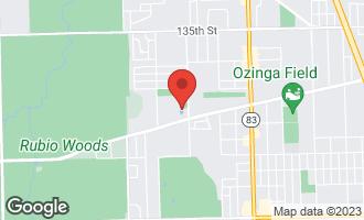 Map of 5227 James Lane #1424 CRESTWOOD, IL 60418