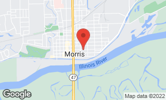 Map of 523 East Main Street MORRIS, IL 60450