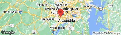 Map of 5232 BACKLICK ROAD SPRINGFIELD, VA 22151