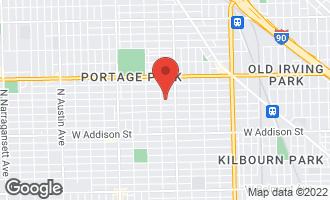 Map of 5243 West Berenice Avenue CHICAGO, IL 60641