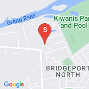 Road Map of 525 KIWANIS PARK Drive, Kitchener, Ontario
