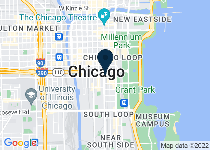 Map of 525 South State Street, Chicago, IL 60605, United States
