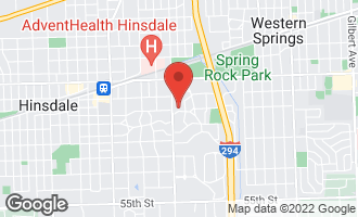 Map of 525 East 3rd Street HINSDALE, IL 60521