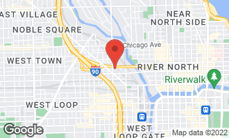Map of 525 North Halsted Street P-9 CHICAGO, IL 60622