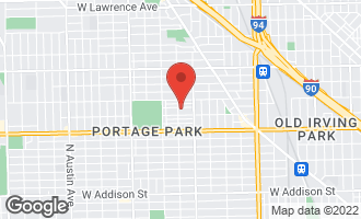 Map of 5251 West Warner Avenue CHICAGO, IL 60641
