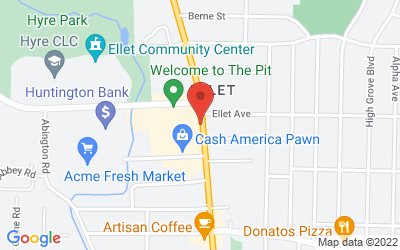 Map of 526 Canton Road, Akron, OH 44312, USA