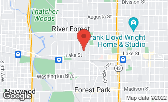 Map of 526 Ashland Avenue RIVER FOREST, IL 60305