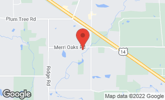 Map of 527 West Merri Oaks Road BARRINGTON HILLS, IL 60010