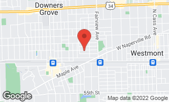 Map of 529 Franklin Street DOWNERS GROVE, IL 60515