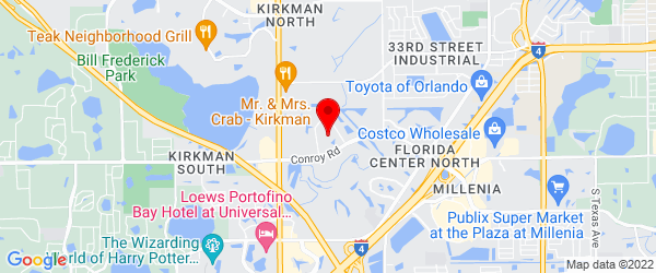 Google Map of 5295 Middle Ct, Orlando, FL 32811