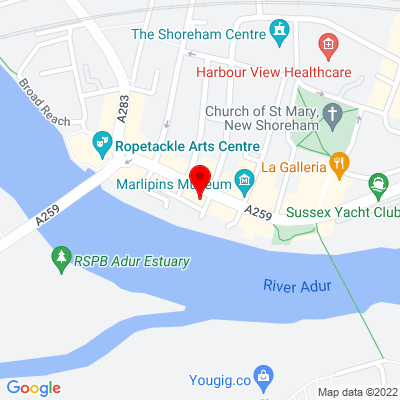 Google Map of 53 High Street, West Sussex, BN43 5DE
