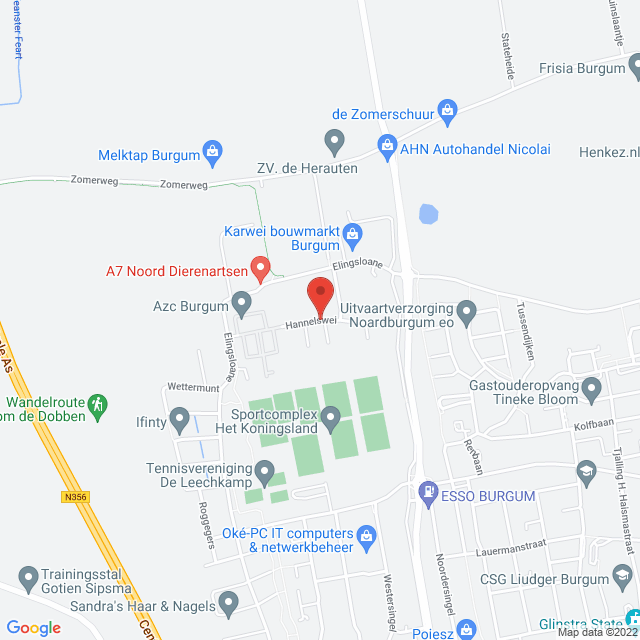 Hannelswei / Burgum West