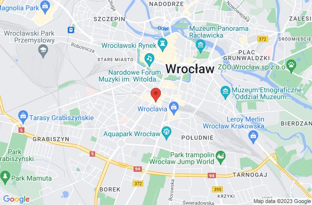 Wyświetl Wrocławska Akademia Kulinarna na mapie