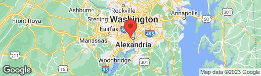 Map of 53 SKYHILL ROAD #103 ALEXANDRIA, VA 22314