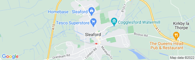 Map Of Sleaford