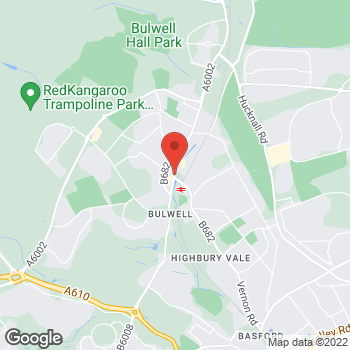 Map of wilko Bulwell (New) at 36/48 Main Street, Nottingham,  NG6 8EW