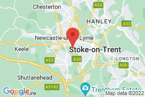 Health Library for North Staffordshire on the map