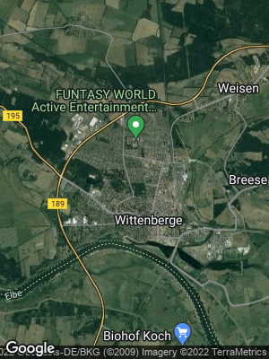 Google Map of Wittenberge
