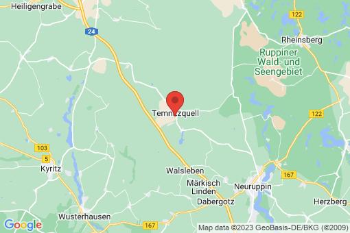 Karte Temnitzquell
