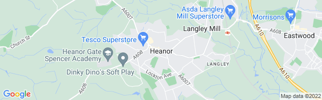 Map Of Heanor