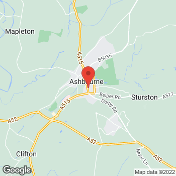 Map of Bargain Booze Plus Compton at 18 Compton, Ashbourne, Derbyshire DE6 1DA