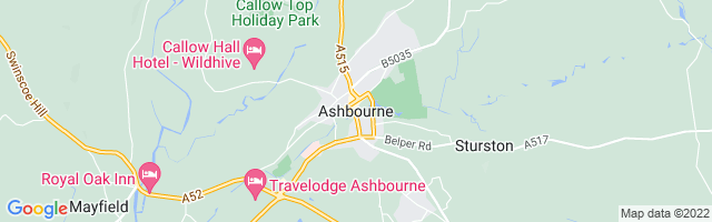 Map Of Ashbourne