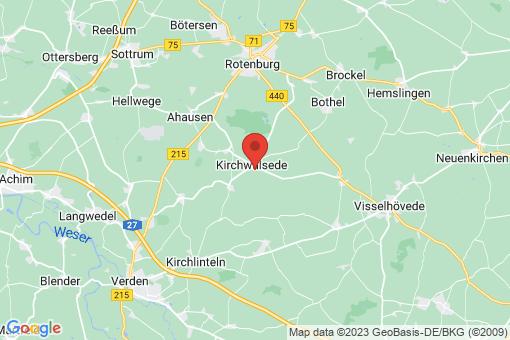 Karte Kirchwalsede
