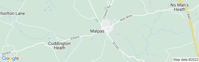 Map Of Malpas